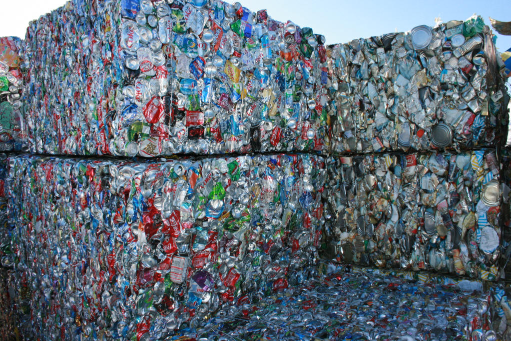 Aluminum can recycling is growing recycling redefined for Waste material products